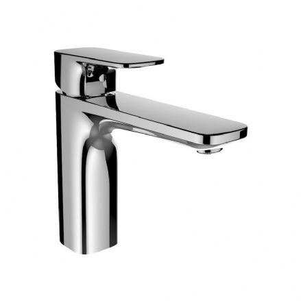 311751 - Laufen City Plus Single Lever Basin Mixer Tap with 140mm Spout - 3.1175.1